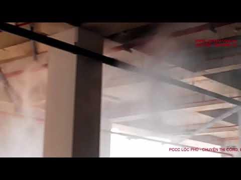 Test và nghiệm thu hệ thống chữa cháy Drencher