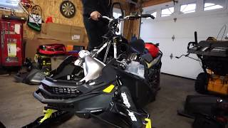 6. What I like and Don't like about the new 2018 850 backcountry X Ski-Doo