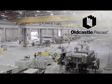 Behind the Scenes of a Precast Concrete Plant-Oldcastle Video Thumbnail