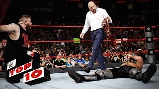 Top 10 Raw Moments  Wwe Top 10  Aug  29  2016