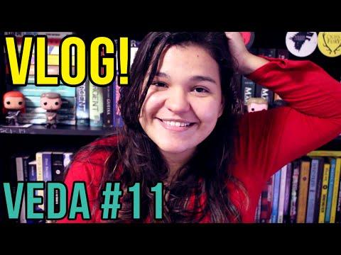 VEDA #11: VLOG! Sobre Trabalhar em casa, encontro de nerds e empolgação | Bruna Miranda