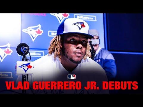 Vladimir Guerrero Jr.'s wild MLB Debut