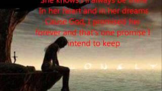 Saving Amy by Brantley Gilbert with lyrics on screen