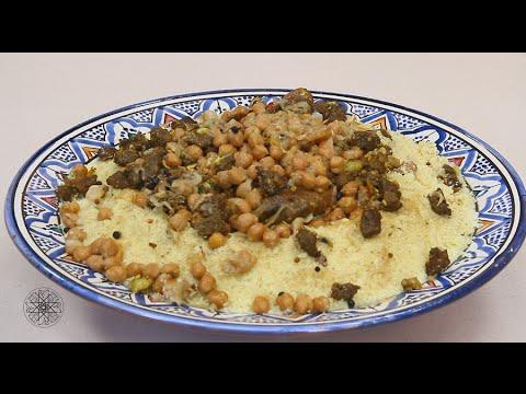 Couscous aux M'sakhen