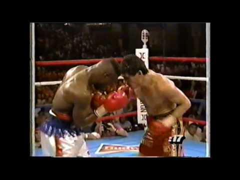 Легендарные бои — Чавес-Тейлор (Бой года-90) | FightSpace (видео)