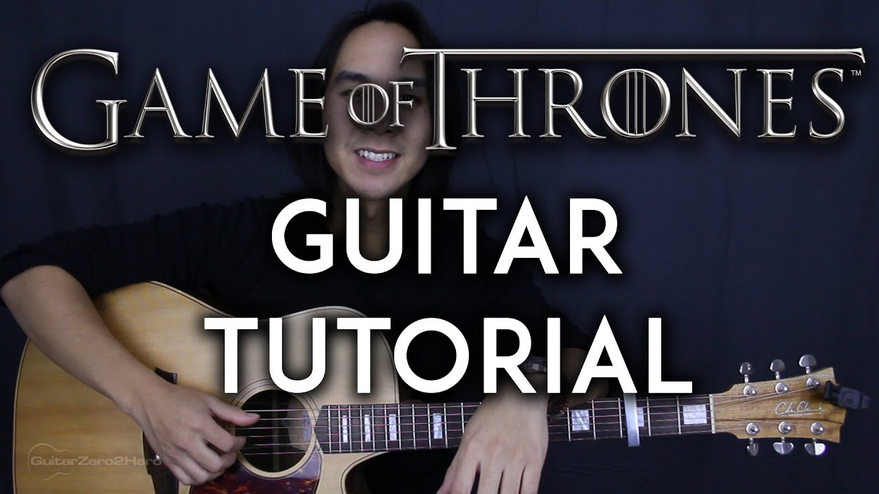 Game Of Thrones Theme Song Acoustic Guitar Cover + Video Lesson Tutorial (Boyce Avenue Version)