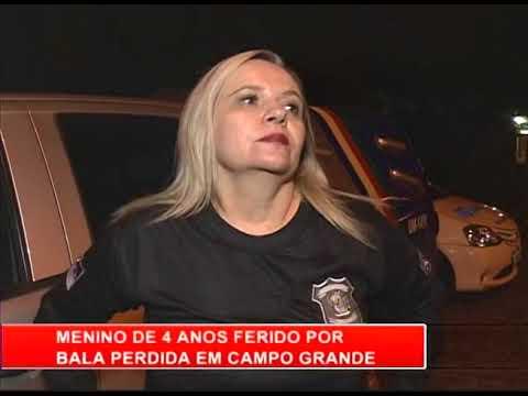 [RONDA GERAL] Menino de 4 anos é ferido por bala perdida em Campo Grande