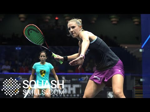 Squash tips: Laura Massaro on hitting open space