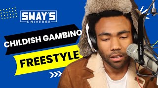 """Video Childish Gambino Spits Dope Freestyle Over Drake's """"Pound Cake"""" on Sway in the Morning MP3, 3GP, MP4, WEBM, AVI, FLV Januari 2018"""