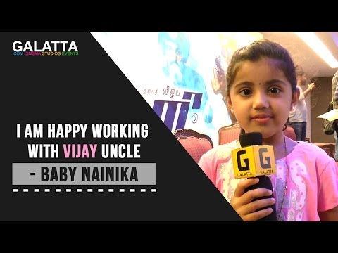 Video I am happy working with Vijay Uncle - Baby Nainika download in MP3, 3GP, MP4, WEBM, AVI, FLV January 2017