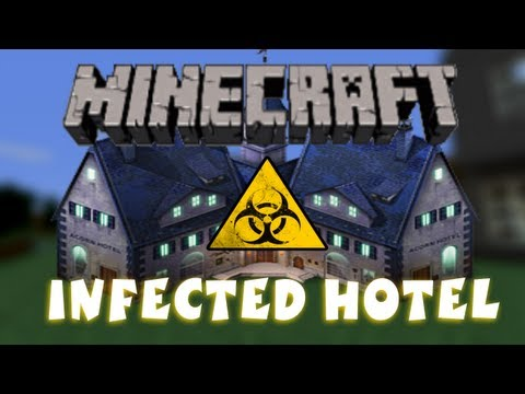 Minecraft - Custom Map - Infected Hotel Part 2