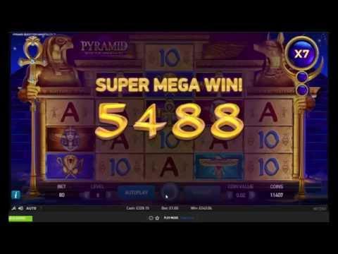 Pyramid: Quest for Immortality Slot Big Win - NetEnt
