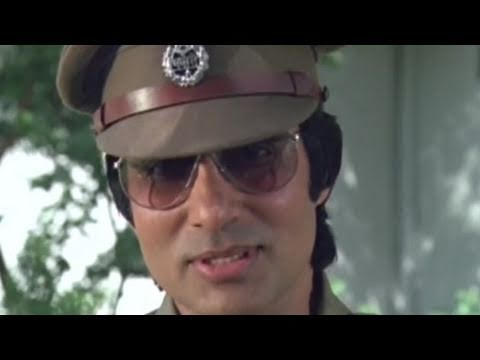 Amitabh Bachchan becomes police officer because of Kader Khan | Inquilaab | Action Scene 2/21