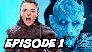 Game Of Thrones Season 7 Episode 1, TOP 10 WTF, Book Easter Eggs, Arya Stark and The Red Wedding, Jon Snow, Night King ...