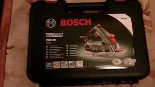 1   Bosch PKS 16 multi - распаковка