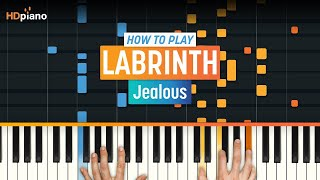 """Video How To Play """"Jealous"""" by Labrinth   HDpiano (Part 1) Piano Tutorial MP3, 3GP, MP4, WEBM, AVI, FLV Mei 2018"""