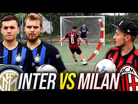 INTER Vs MILAN FOOTBALL CHALLENGE | SPECIALE DERBY INTER MILAN 2018 W/Menzo E SePPi