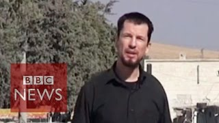 Islamic State hostage John Cantlie 'reports' from Kobane