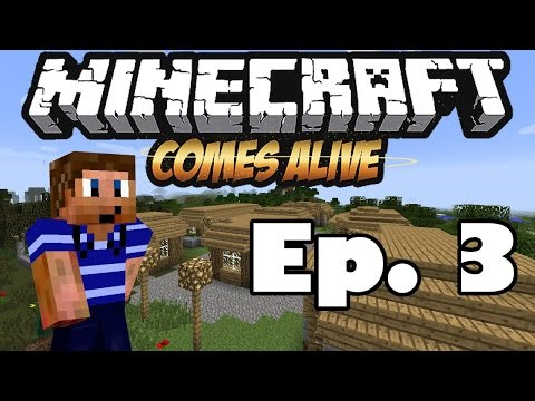 Minecraft Comes Alive 5 | Ep. 3 - Life Lessons (Minecraft Mod LP)