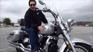6. 2009 Yamaha Road Star Silverado stock # 9-3693 demo ride & walk around @ Diamond Motor Sports