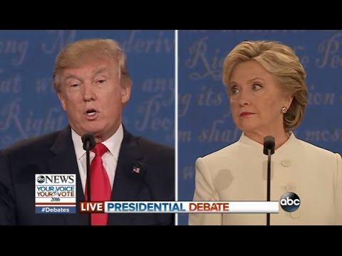 Third Presidential Debate Highlights | Trump, Clinton on Abortion (видео)