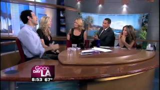 Charissa Wheeler as 'Chloe' on Good Day LA