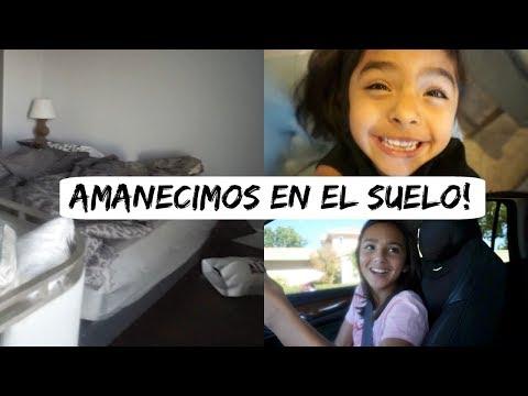 AHORA SI AMANECIMOS EN EL SUELO #Vlogsdiarios