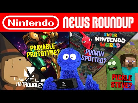 Metroid's Most Exciting Hires Yet, Level-5 in Trouble, Hidden Pikmin | NINTENDO NEWS ROUNDUP