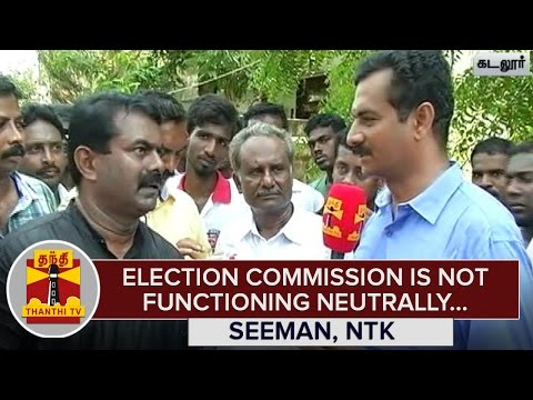 Election-Commission-is-not-Functioning-Neutrally--Seeman-NTK-Chief--Tahnthi-TV