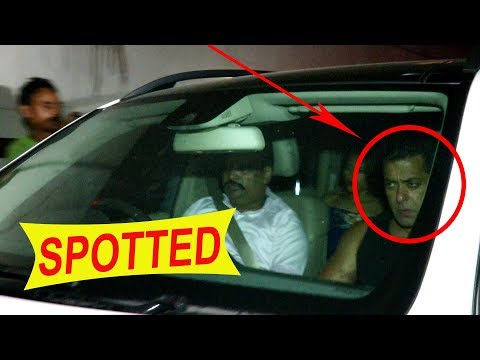 Salman Khan Spotted At Mahesh Bhatt Office