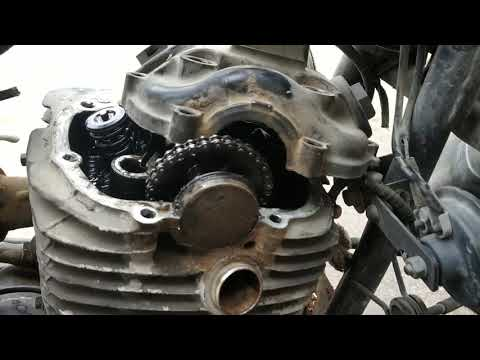 How to open the of engine of Pulsar 150