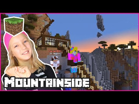 Building a Mountainside House / Minecraft (видео)