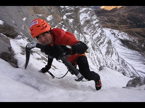 Speedy Swiss Man Climbs The Eiger 2015