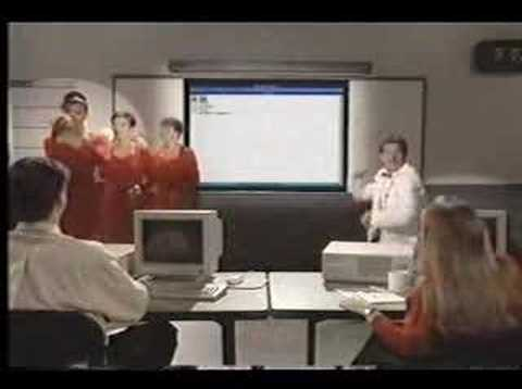 MS DOS - MS-DOS 5 Promotional Video - Wacky Rap video created by Microsoft to encourage computor uses to upgrade to MS-DOS 5.