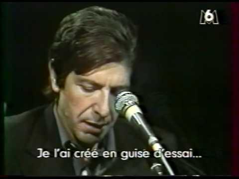 Leonard Cohen: Lover Lover Lover (Live 1976) w/ Laura B ...