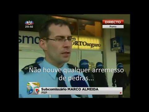 Marco Almeida PSP do Porto a mentir em directo - by:MasterGroove
