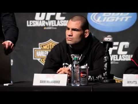 Cain Velasquez On UFC121 Bout with Brock Lesnar