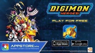 [Game] Sống lại cùng Digimon Heroes - AppStoreVn, tin công nghệ, công nghệ mới
