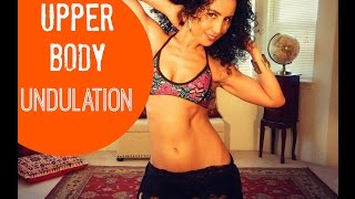 Learn to belly dance: how to do an upper body undulation - YouTube