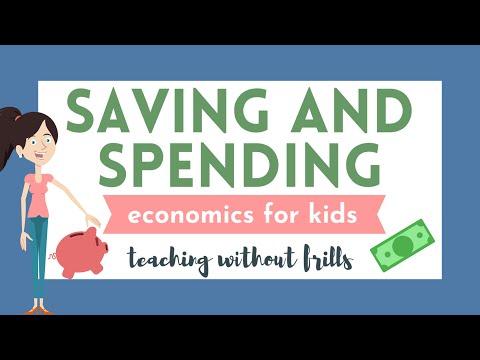 Economics for Kids: Saving and Spending