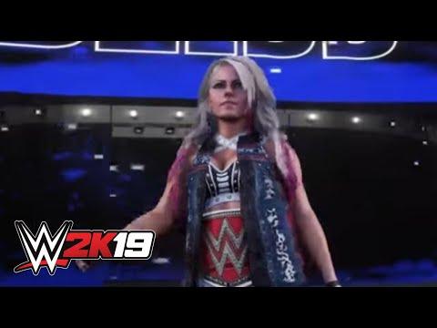 Video WWE 2K19 Alexa Bliss entrance video download in MP3, 3GP, MP4, WEBM, AVI, FLV January 2017