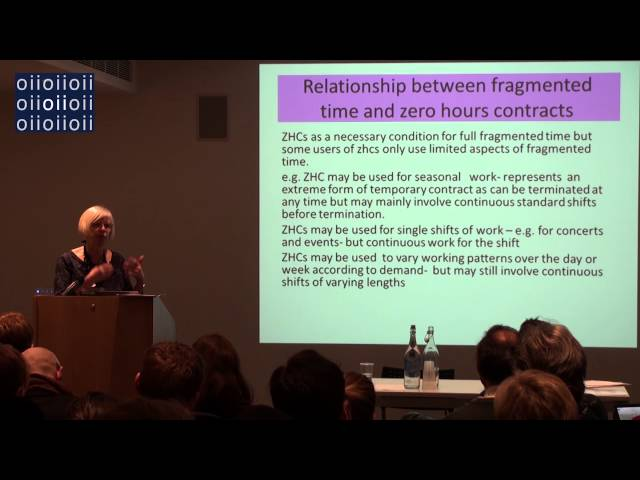 Fragmented time and the UK social care sector