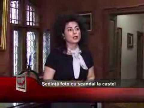 Şedinţă foto cu scandal la Castelul Hașdeu