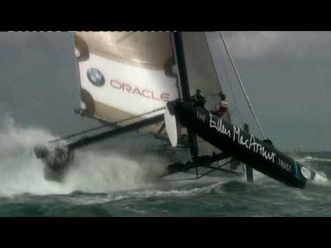 "Amazing Sailing Videos of When It's ""Fresh to Frightening"""