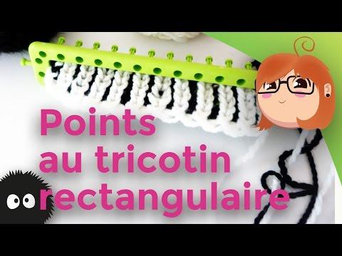 Differents points au tricotin - Comment terminer un tricotin ...