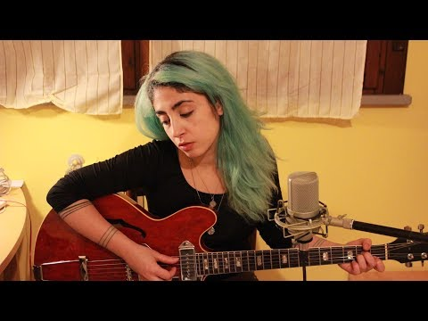 Alice Green - While My Guitar Gently Weeps (Beatles cover) (видео)
