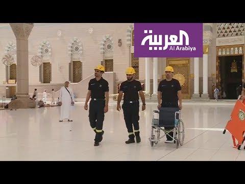 العرب اليوم - شاهد: مديرية الدفاع المدني تجهز طواقمها الإسعافية