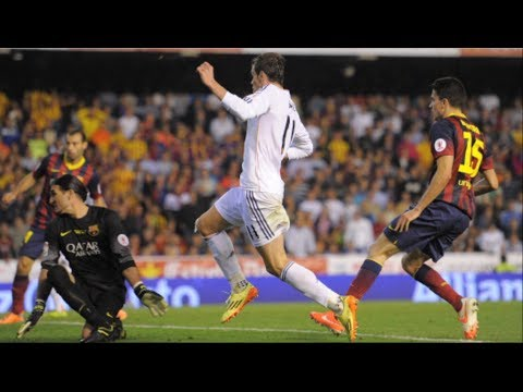 Real Madrid vs Barcelona Copa del Rey Final 2-1