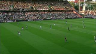 Nikica Jelavic trifft nach 16 Sekunden gegen Aston Villa