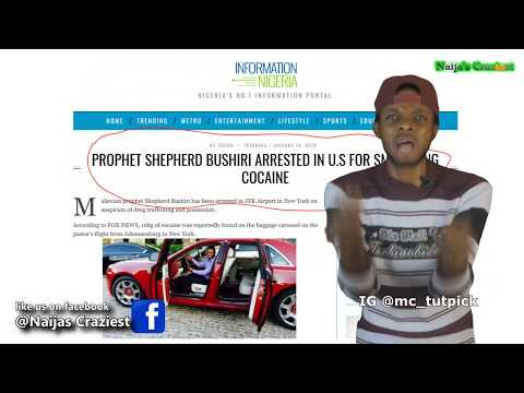 """Prophet Bushiri Arrested Smuggling """"Annointed"""" Cocaine At JFK Airport USA"""